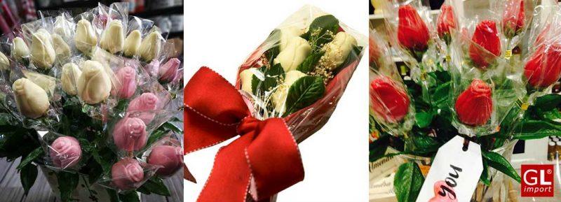regalos originales para madres rosa de chocolate gourmet leon