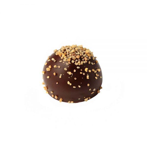 Las mejores Marcas Bombón chocolate negro con crema cafe manchado