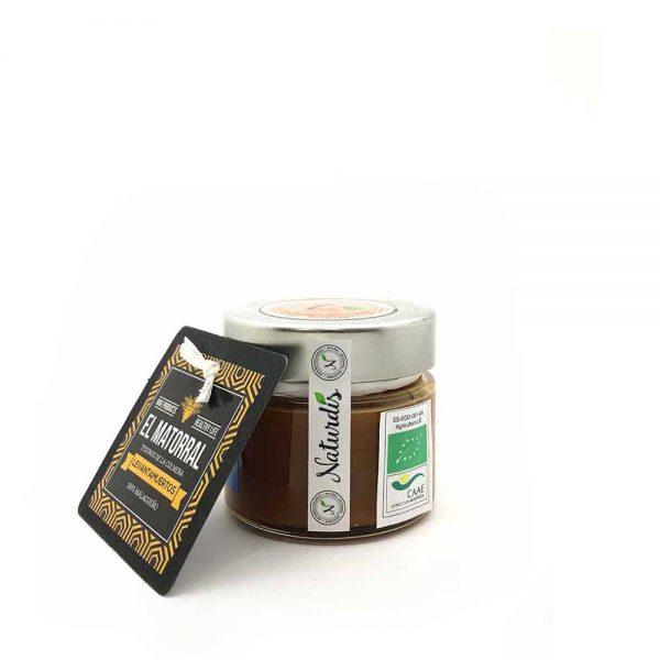 Miel pura de abeja, jalea real, tintura de própolis, polen fresco, aceites esenciales de naranja y de limón.