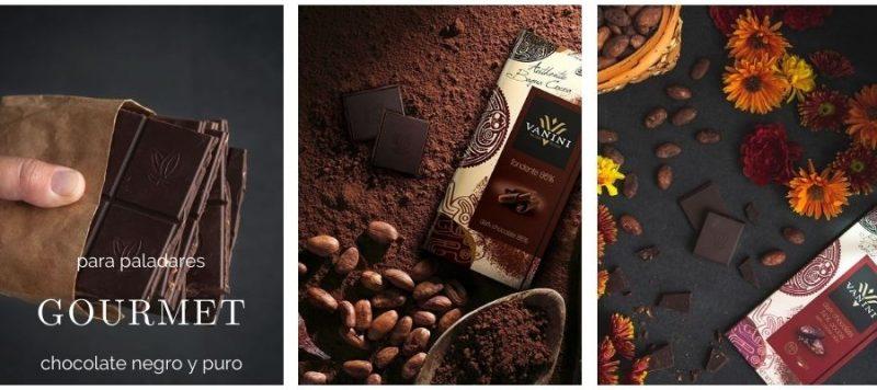 Los mejores chocolates negros vanini gourmet leon