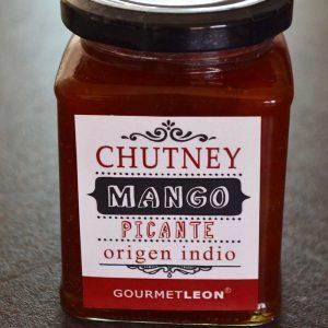 comprar chutney mango picante gourmet leon