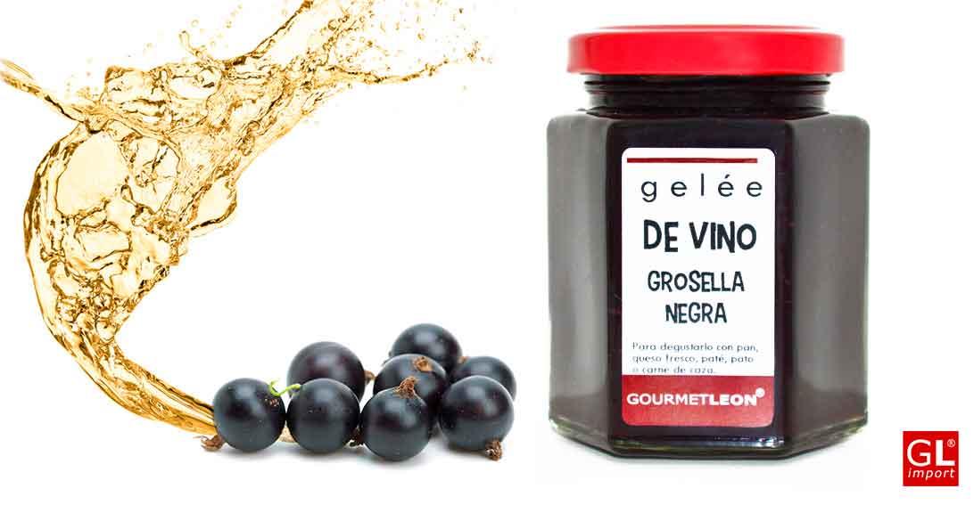 gelee de vino con grosella Gourmet Leon