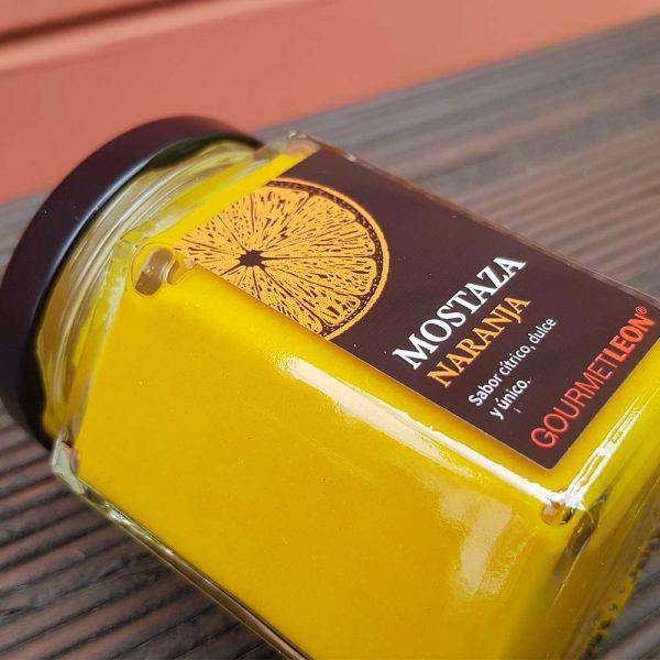 comprar mostaza con naranja gourmet leon