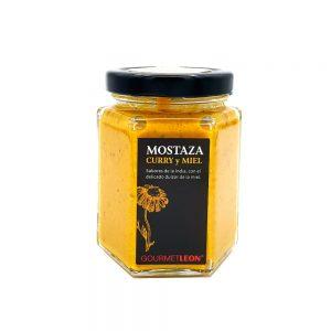 mostaza curry y miel salsa para barbacoa embutidos gourmet leon