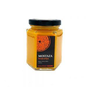 mostaza naranja salsa para solomillo vinagretas gourmet leon