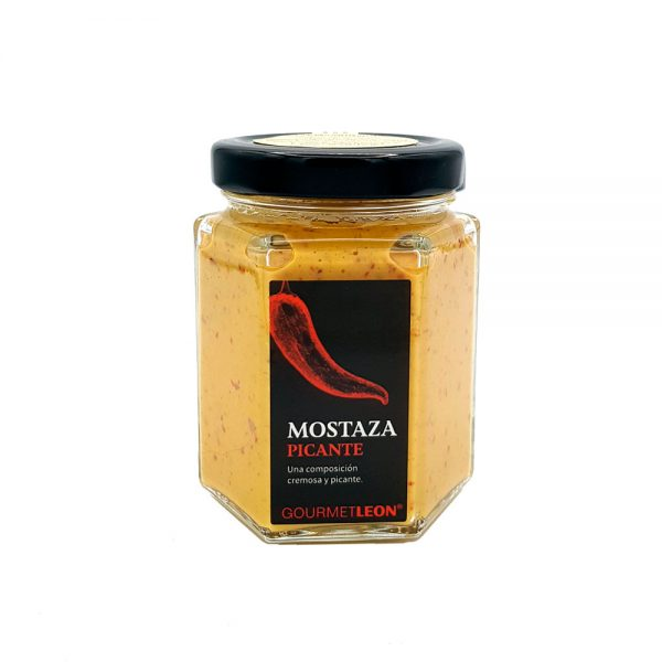 mostaza picante salsa para pollo frito gourmet leon
