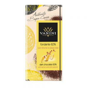 gin tonic con un sofisticado y buen chocolate italiano de vanini vanini gourmet leon