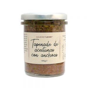 pate aceitunas y anchoas gourmet leon