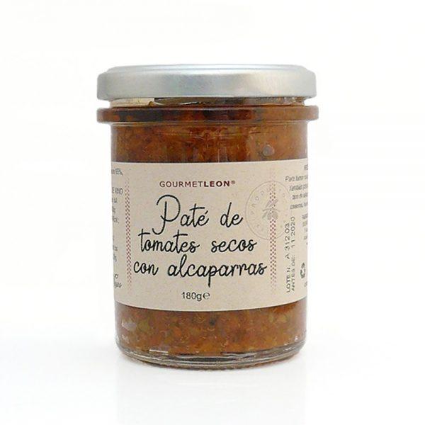 pate de tomate seco con alcaparra gourmet leon