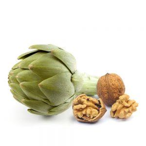 pate vegetal de alcachofas y nueces gourmet leon