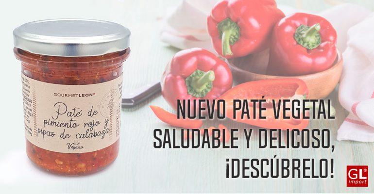 pate vegetal pimiento rojo pipas calabaza