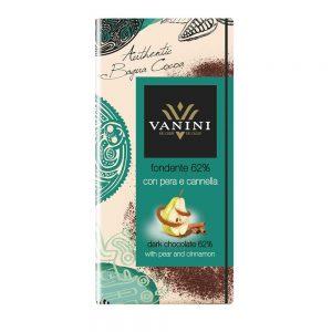 Peras con chocolate y canela | Buena combinación en Tableta de Vanini