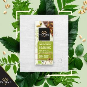 pistachos con chocolate ecologico vanini made in italy gourmet leon
