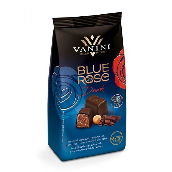 bombones chocolate negro blue rose vanini gourmet leon