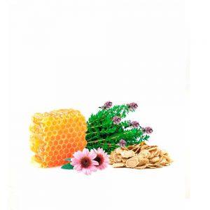 preparado de miel para las defensas