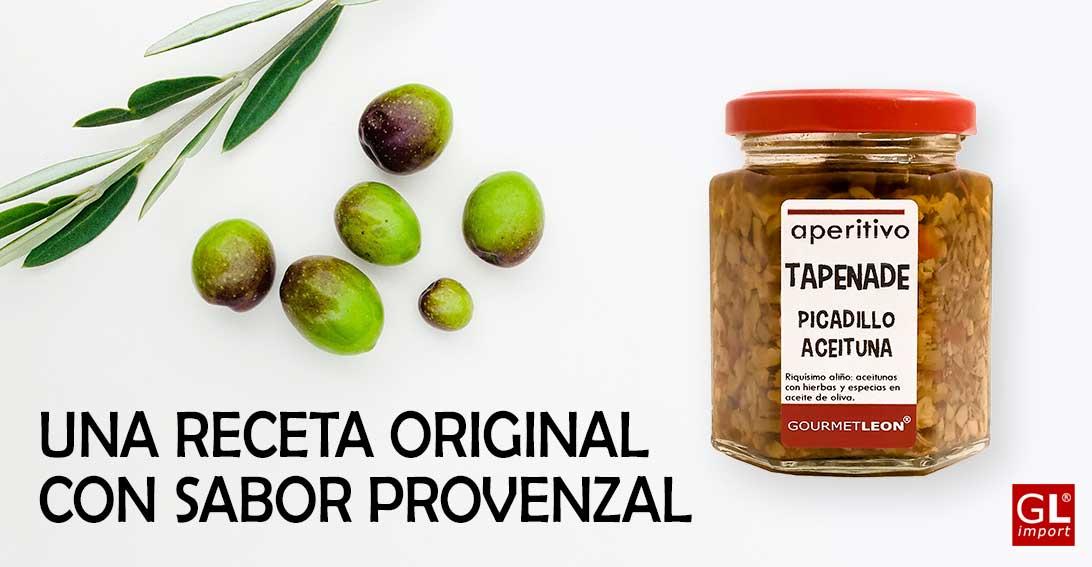 Receta aceitunas chupadedos con Tapenade verde