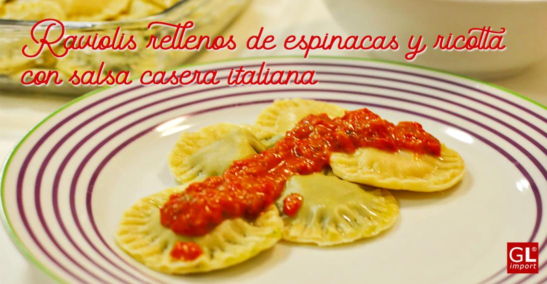 receta casera raviolis espinacas ricotta gourmet leon