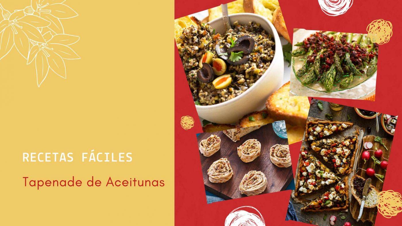 recetas faciles con tapenade de aceitunas muy sencillo y tradicional