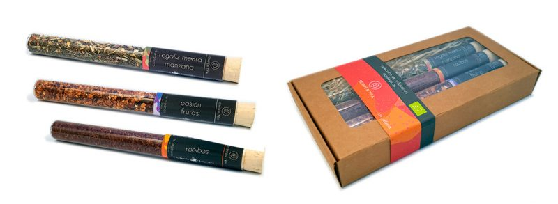 regalos infusiones originales sin cafeina packs de tes gourmet leon