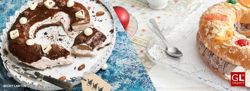 roscon de reyes cobertura relleno chocolate gourmet leon
