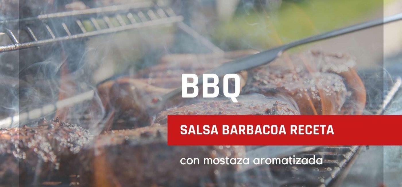salsa barbacoa receta con mostaza aromatizada gourmet leon