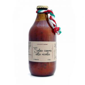 salsa de tomate queso ricotta para macarrones gourmet leon