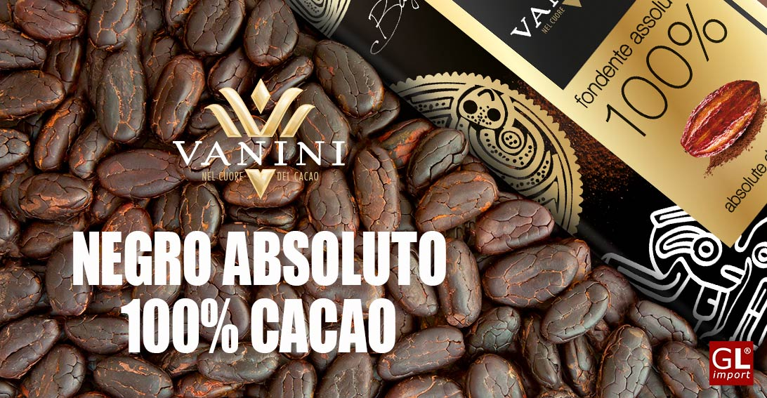 tableta chocolate 100% cacao vanini