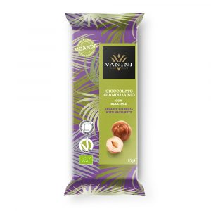 Chocolate gianduja con avellanas UGANDA 85gr