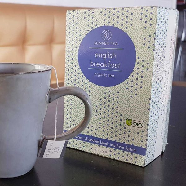 te english breakfast te ingles marcas semper tea