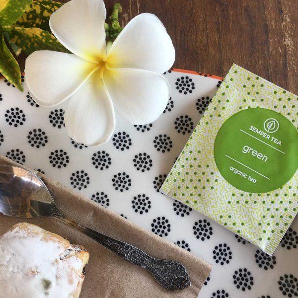 te verde ecológico para adelgazar en bolsa green semper tea