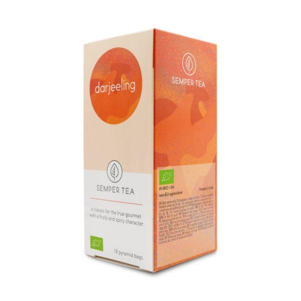 darjeeling comprar te negro gourmet online bolsa piramide semper tea