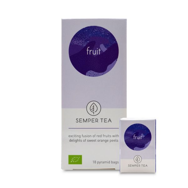 tes e infusiones de frutas mejor oferta en bolsa piramide semper tea
