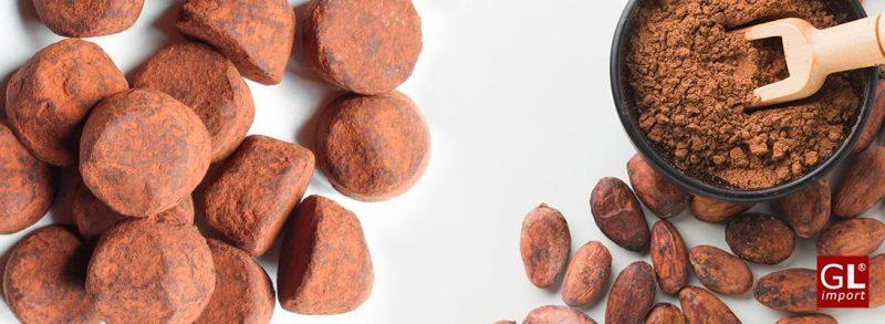 Trufas belgas con cacao en polvo de L´Heritage Chocolates de Gudrun