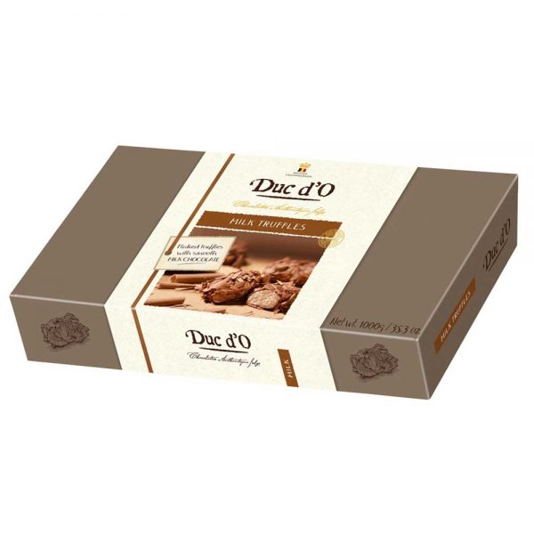 trufas de chocolate con leche a granel para panaderia pasteleria gourmet leon