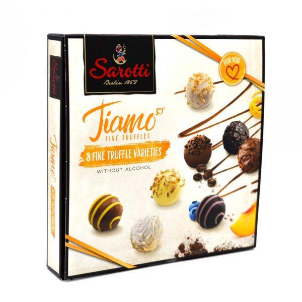trufas de chocolate sarotti tiamo gourmet leon