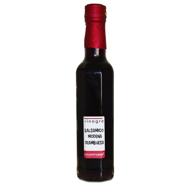 Vinagre Aceto Balsámico de Módena con frambuesa