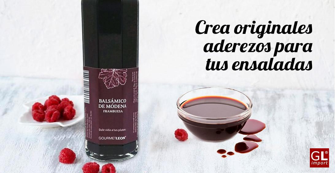 vinagre balsamico frambuesa gourmet leon