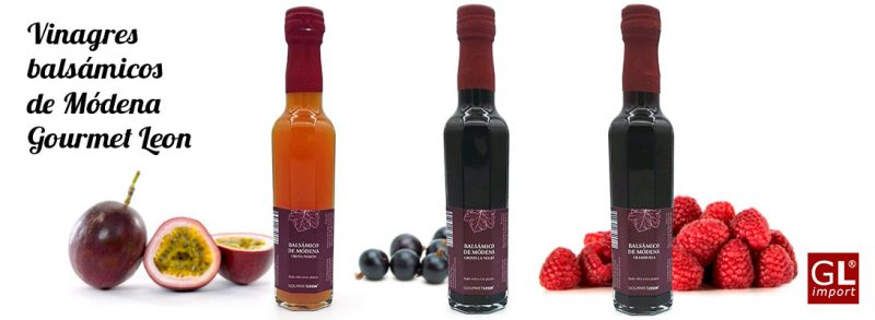 vinagres balsamicos de modena gourmet leon