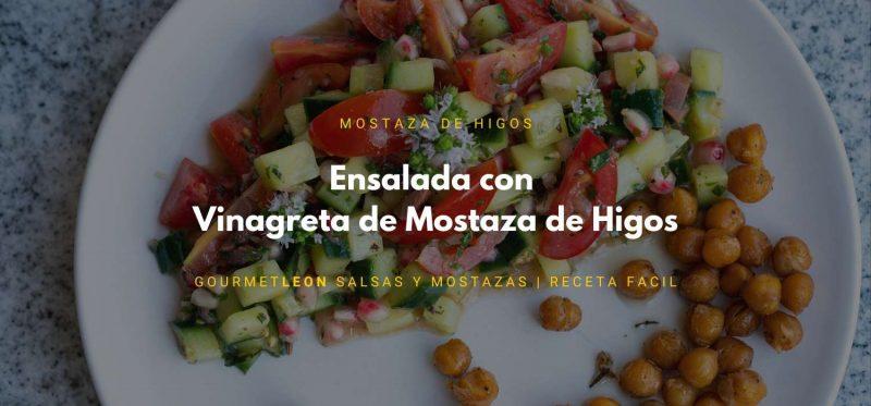 vinagreta de mostaza de higos gourmet leon